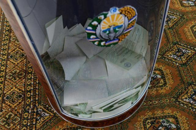 Известны предварительные результаты президентских выборов вУзбекистане