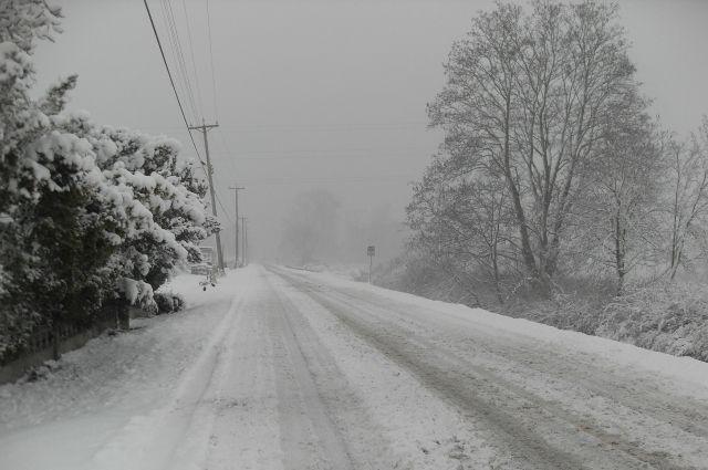 Снег и метели вновь атакуют Новосибирск.