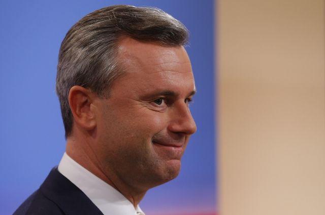 Правый кандидат признал поражение навыборах президента вАвстрии