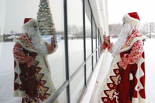 Новогодние празднества в Иркутске стартовали 1 декабря.