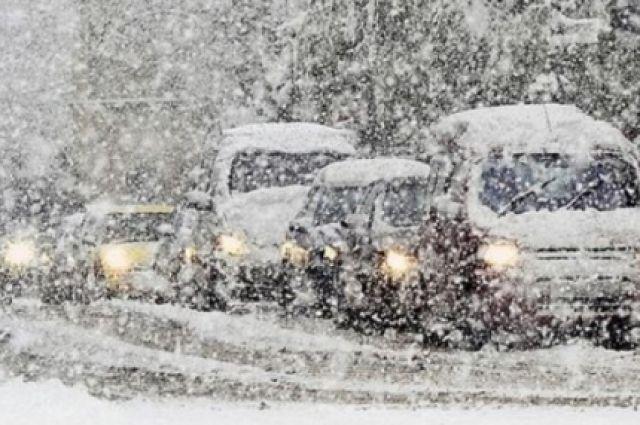 ВТуве сильный снег иметель