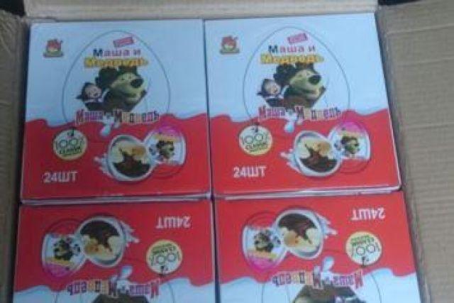 5 тонн контрафактных шоколадных яиц задержали впорту Владивостока