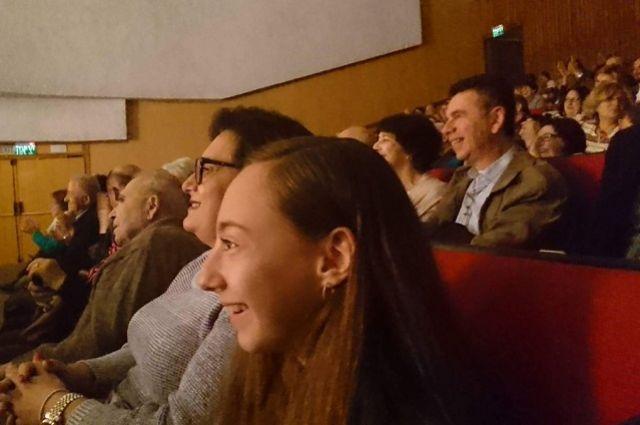 Израильская публика тепло приняла пензенских артистов.