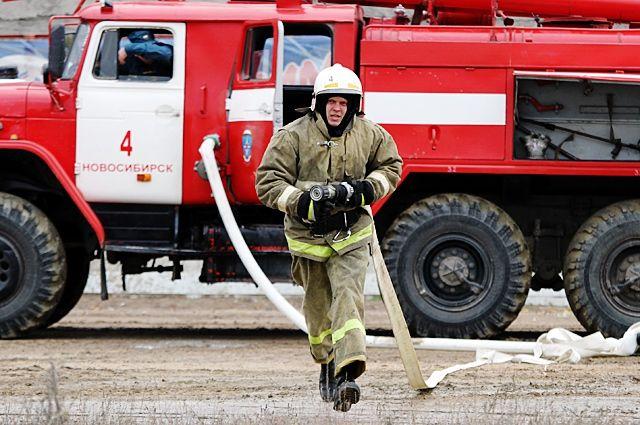Пожар вавтомастерской потушили вБрянске