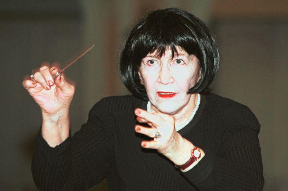 Вероника Дударова — первая в отечественной истории женщина-дирижёр.