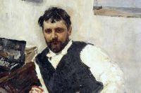 Портрет Константина Коровина работы Валентина Серова, 1891 год (из коллекции И. А. Морозова)