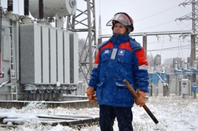 ВАдыгее из-за налипания снега сотни граждан остались без света