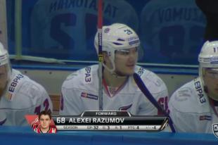 «Металлург» одержал победу в матче с новосибирской «Сибирью» со счетом 2:1.