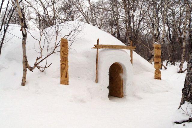 Необыкновенный ледовый отель возведут наКамчатке