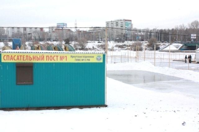 Лед выдержит. Каток уледокола «Ангара» открылся вИркутске