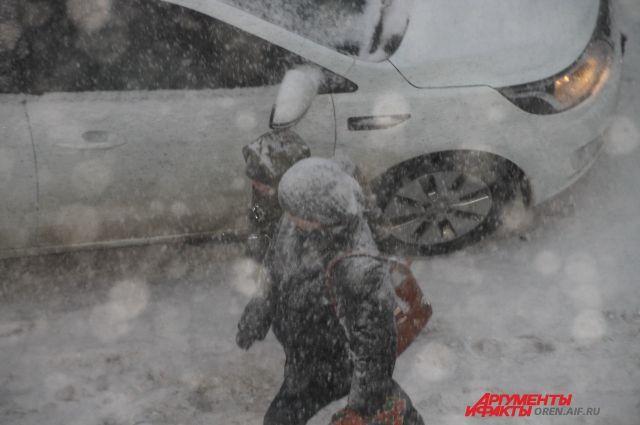 Из-за погодных условий вСамаре образовался транспортный коллапс