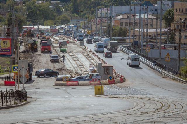 Сегодня запущено движение трамваев наПятницком путепроводе