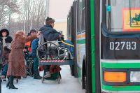 9 из 10 столичных автобусов перевозят инвалидов и маломобильных москвичей.