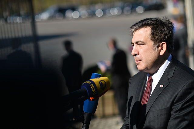 Саакашвили назвал число членов его «Руха новых сил»