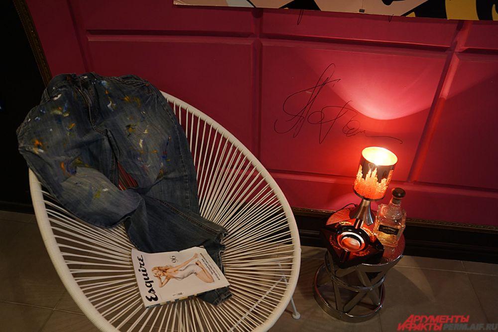 Оригинальные джинсы, в которых творил Энди Уорхол.