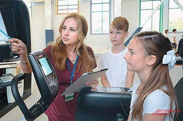 В Москве работают 11 центров спортивного тестирования.