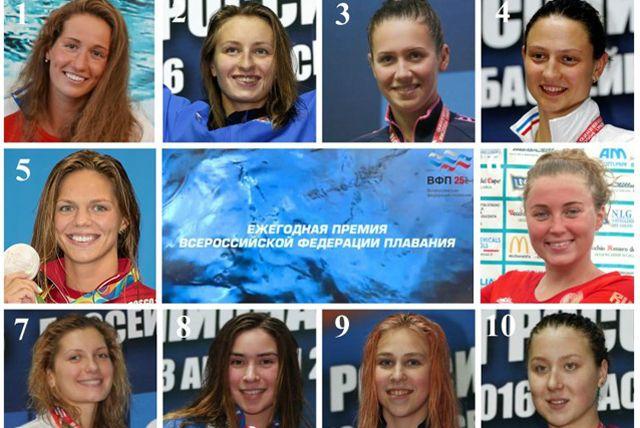 Голосование проходит  в рамках V Ежегодной премии Всероссийской федерации плавания.