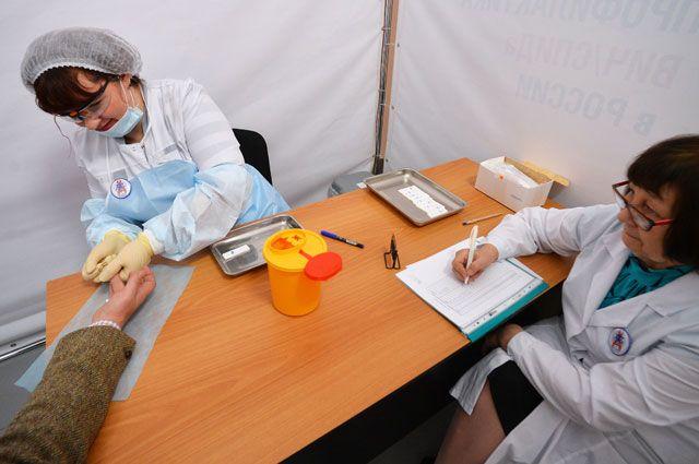 В процентном отношении в Москве самое большое количество жителей, прошедших тест на ВИЧ. Ни в одном городе мира не достигли таких показателей.