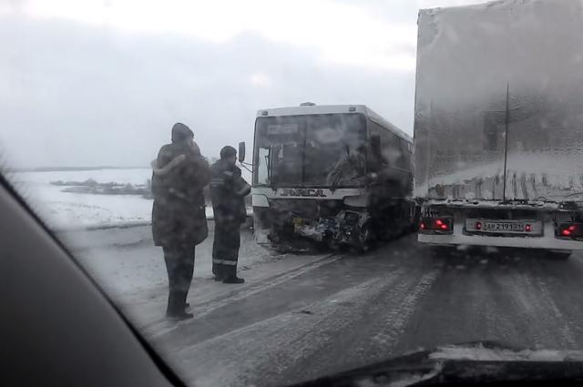 Авария произошла 7 декабря в районе деревни Большой Улус.