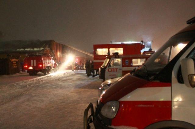 Неменее 400 заключенных казанской ИК-2 эвакуировали из-за пожара