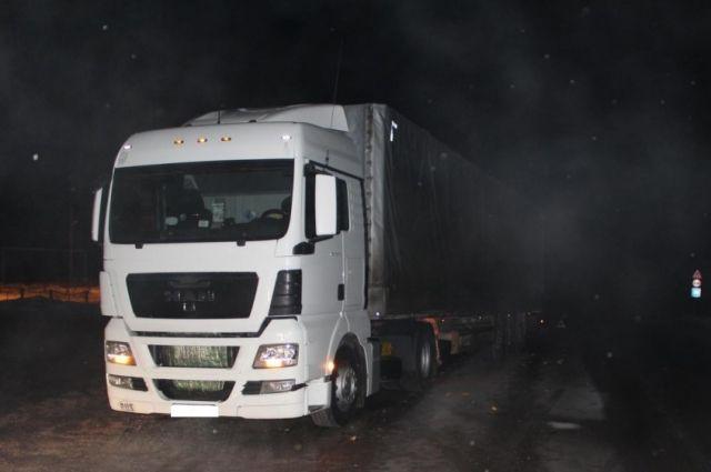 Дальнобойщик из Калининграда на трассе под Пермью сбил пенсионерку.