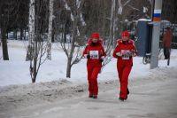 Омичи традиционно принимают участие в забеге.