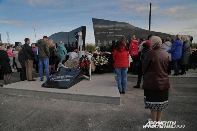 На открытии памятника шахтёрам, погибшим на «Северной», Вадим Шаблаков заявил, что каждый воспринял эту трагедию как личное горе.