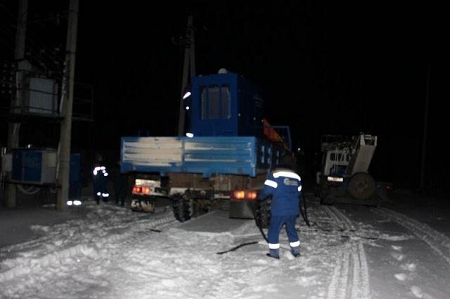 ВПлавске восстановили электроснабжение