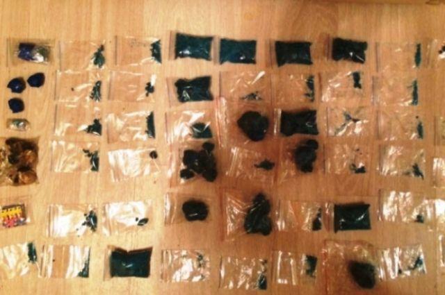 Почти полтора килограмма наркотиков изъято из незаконного оборота