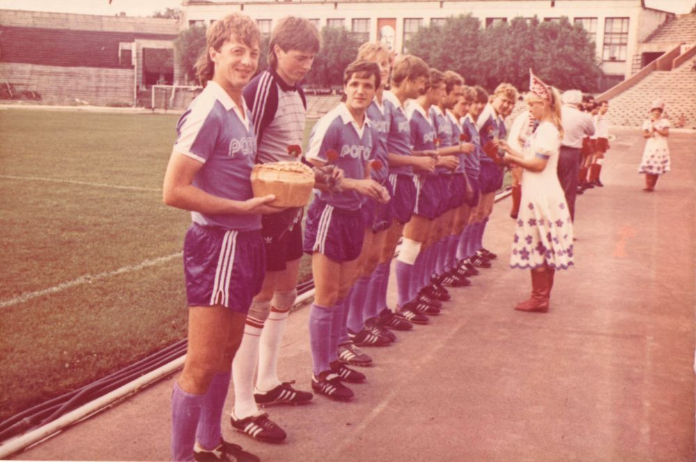 Открытие сезона. 1980-е.