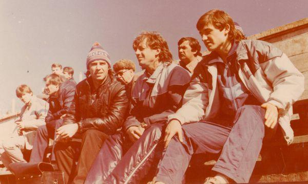 «Ротор» на трибунах. 1980-е.