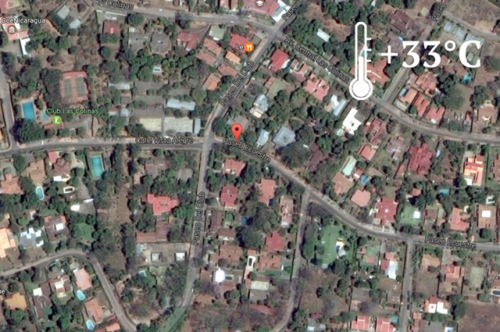 В столице Никарагуа Россия владеет 40 736 квадратными метрами земли. Имение располагается по адресу: Манагуа, район Лас-Колинас, улица Виста Алегреa.