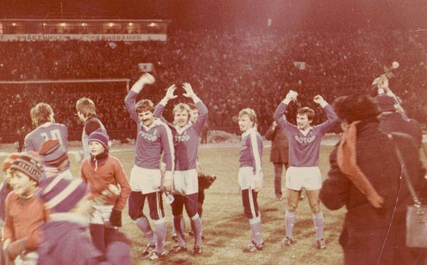 Победа. 1980-е.