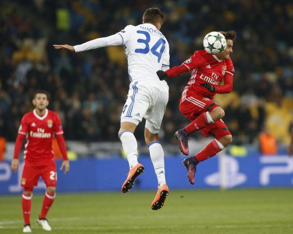В третьем матче динамовцам было нежелательно проигрывать у себя на поле против Бенфики