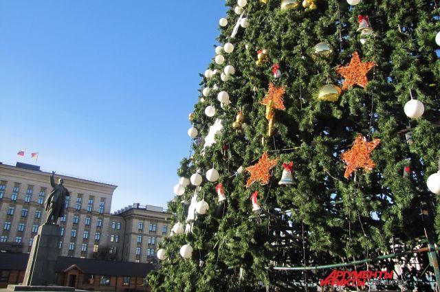 ВВоронеже разразился скандал вокруг установки основной городской елки