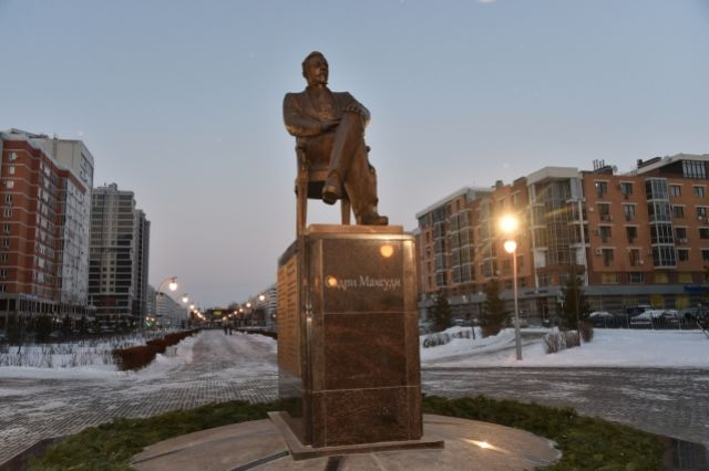 Монумент известному ученому и государственному деятелю Садри Максуди появился 7 декабря в казанском парке «Стамбул».