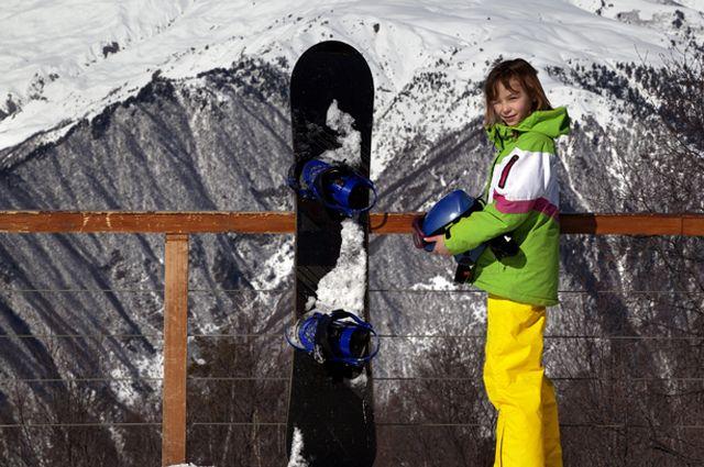 Свой вдоску! Что развивает сноуборд у детей?