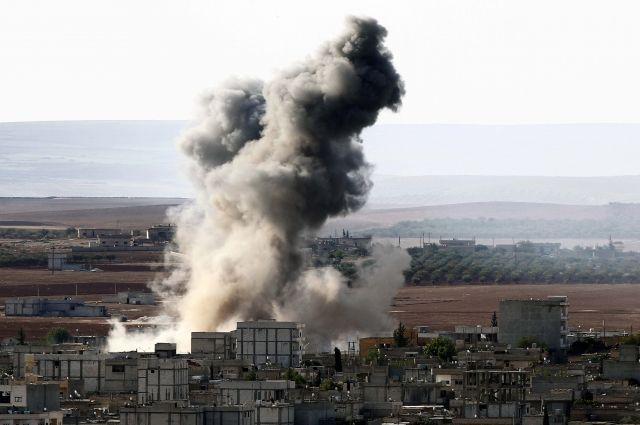 Коалиция воглаве сСША атаковала Ракку, 20 мирных граждан погибли