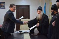 Епархия передала в ведение администрации города Нагорный парк