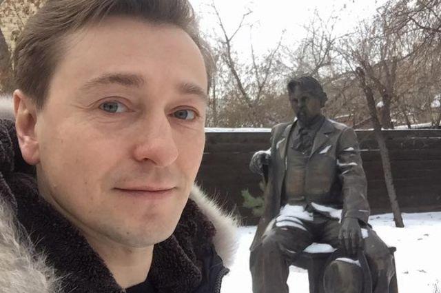 Сергей посетил дом-музей В.И.Сурикова.