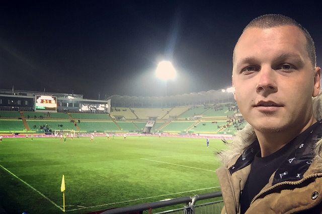 Одна из последних игр пермского клуба в первом круге сезона была в Махачкале.