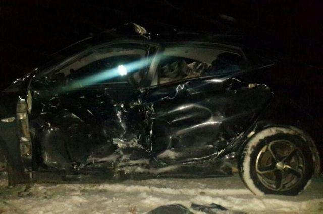 НаСтаврополье повине автоледи произошла авария стремя пострадавшими