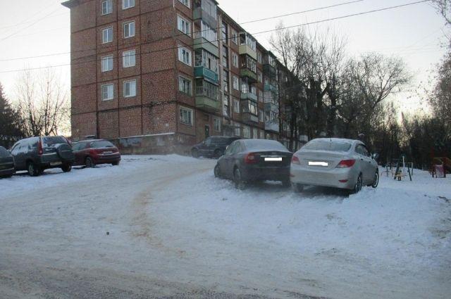 ВТуле наСеребровской столкнулись «Форд» и«Хендай»: пострадал 9-летний ребенок