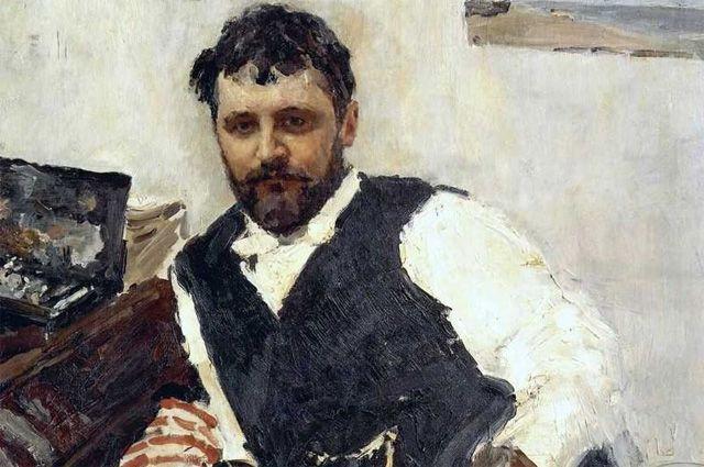 Фрагмент портрета Константина Коровина работы Валентина Серова, 1891 год (из коллекции И. А. Морозова).