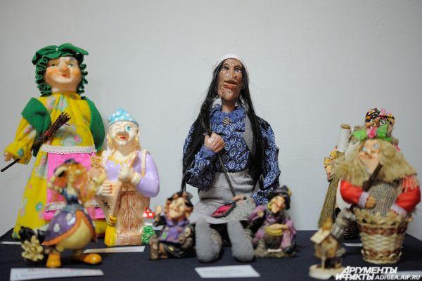 Куклы из России.