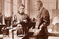 Мария и Пьер Кюри.