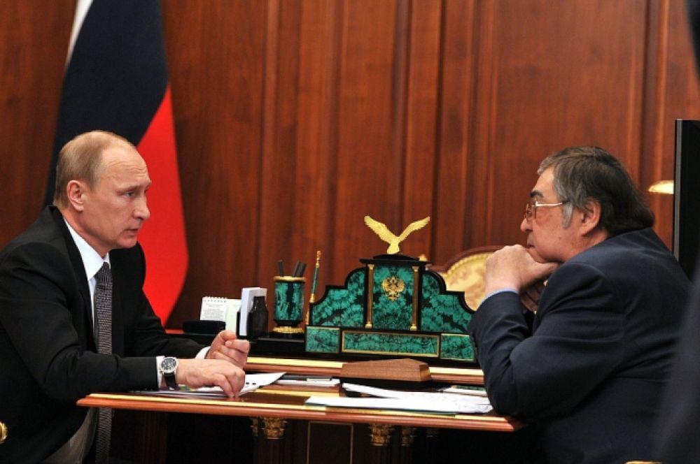 Слух об отставке Амана Тулеева.