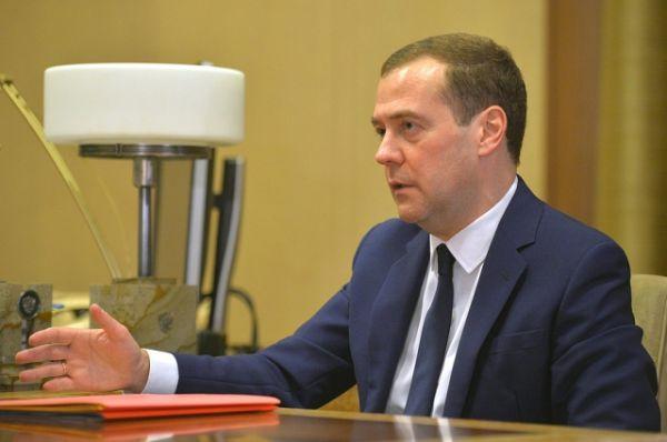 Визит Дмитрия Медведева в Новокузнецк.
