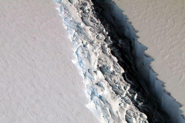 Огромный айсберг изменит жизнь напланете