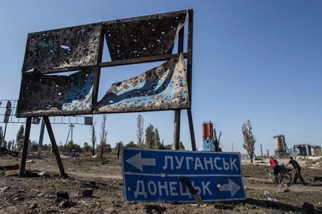 Двое военных ранены— Боевики обстреляли Новотошковское